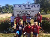 Eisenhower School Sign