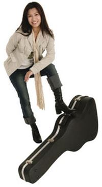 Student and Guitar