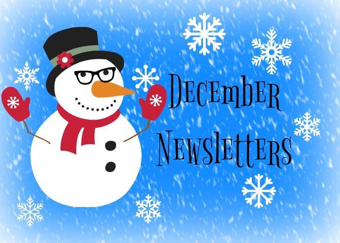 December newsletters