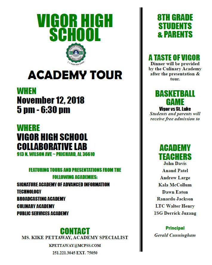 Academic Tour 2018